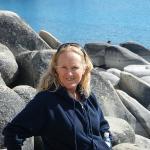 Pam at Sand Harbor