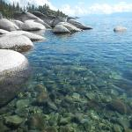 Nothing clearer than the water in Lake Tahoe