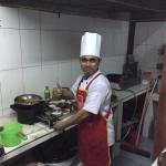Friendly chef