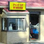 take-out window