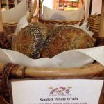 Gorgeous breads...the best ones sell out early!