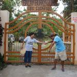 the entrance of Balay Buhay sa Uma, Bee Farm