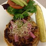House-Made Veggie Burger