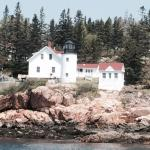 One of 5 lighthouses. Think it is Bear Island light house.
