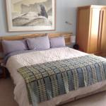 Mor the dog friendly room at the front of the house with huge super Kingsize bed and wonderful 1