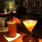 Mia Tai and Tropical Martini