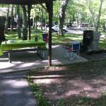 Personal picnic area