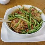 Spicy Noodles with Pepper Sauce ($6.95)