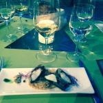 Menu surprise: langoustine algue bretonne quinoa