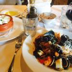 Orecchiette Della Massaia and Liguine con Misto di Pesce