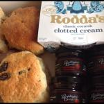 Cornish cream tea's to take away