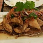 Deep Fried Fish - Pla Zap
