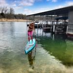 Paddling in by the dock to the launch ramp!