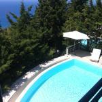 Foto desde terraza del salón de la villa en la que nos alojamos