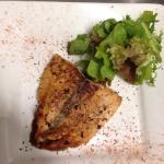 Yummy Emperors Salmon starter. Delicious!