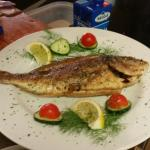 Excelent fish....pizza pasta meat......