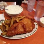 Fish and chips & delicious chowder