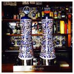Me llamo la atención esta belleza de grifos, en el propio bar del Restaurante