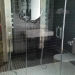 spaceous shower, and clean!