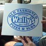 Always a pleasure! Love Wally's! 5 dollar special for lunch is 4 pieces of pizza and a pop