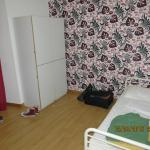 Bedroom and storage facilities. Cleaned daily.