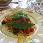 one of our pasta dishes