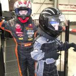 Kids kitted up ready for a few laps