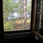 View of the lake from Cabin 5.