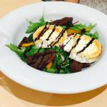 Goats cheese and sunblush tomato salad