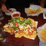 Ribeye nachos