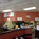 Menu and order counter