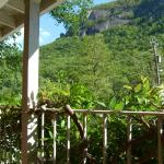 View of Chimney Rock from 2nd level porch deck