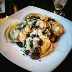 Portabella stuffed  ravioli
