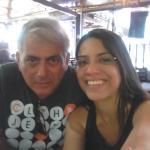 Bom almoço com minha filha