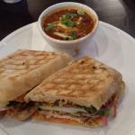 Bahn Mi sandwhich with chili