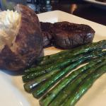 My wonderful Filet with Asparagus and potato