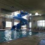 Pool and Waterslide