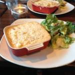 The Bacon Mac & Cheese with Ceasar Salad......Yummmm!