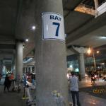 Meeting point, Bay 7 at terminal 3 accordingly