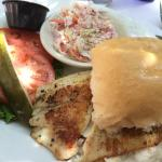White Fish Sandwich