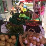 marché produits locaux du samedi