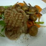 Tenderloin Steak, Sauteed Potato