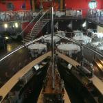 upper level views over bar