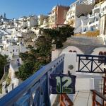 view of Fira from sun deck
