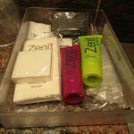 Complementos de higiene en el cuarto de baño