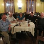 Our group in the main dining room