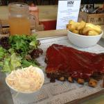 Half Rack of Ribs with Chunky Chips Side