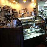 View of the counter where you order