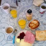 Petit-déjeuner inclus !