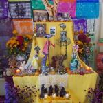 The very personal altar at Casa Linda